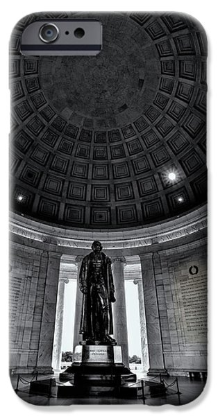 Jefferson Statue In The Memorial IPhone 6s Case by Andrew Soundarajan