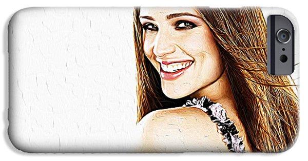 Jennifer Garner IPhone 6s Case by Iguanna Espinosa