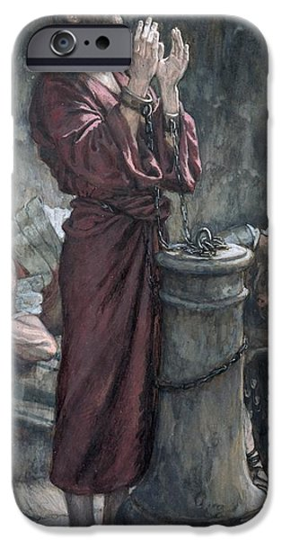 Dungeon iPhone 6s Case - Jesus In Prison by Tissot