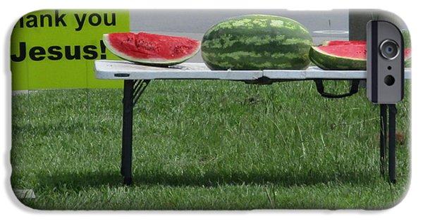 Jesus Watermelon IPhone 6s Case
