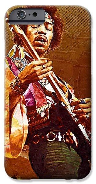 Jimi Hendrix Art IPhone 6s Case
