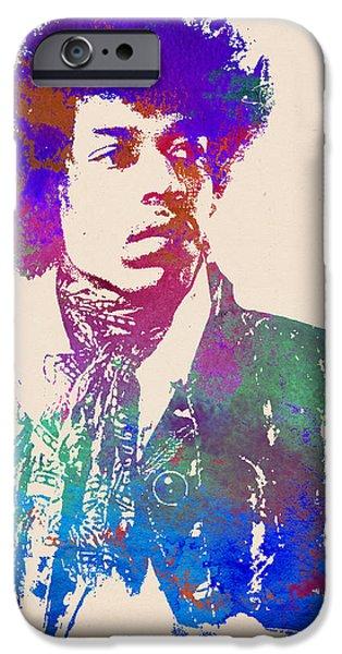 Jimi Hendrix Art Print IPhone 6s Case