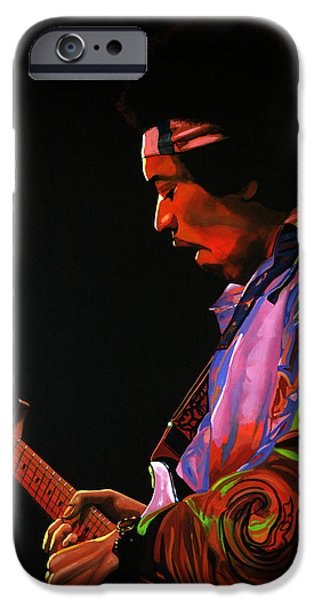 Knight iPhone 6s Case - Jimi Hendrix 4 by Paul Meijering