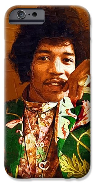 Jimi Hendrix Portrait IPhone 6s Case