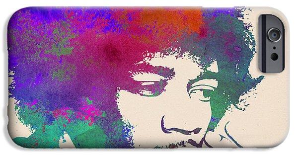 Jimi Hendrix Poster IPhone 6s Case
