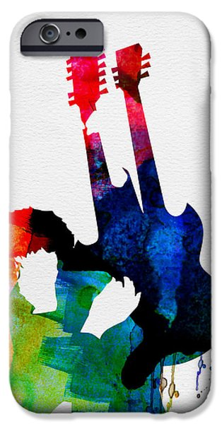 Jimmy Watercolor IPhone 6s Case by Naxart Studio