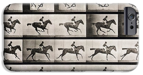 Jockey On A Galloping Horse IPhone 6s Case