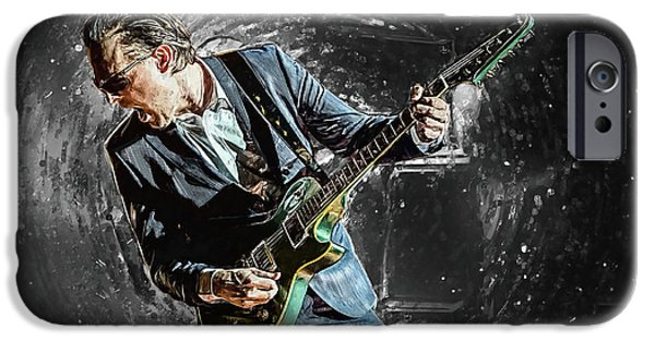 Joe Bonamassa IPhone 6s Case by Taylan Apukovska