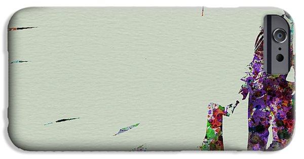 Saxophone iPhone 6s Case - Joe Henderson Watercolor 2 by Naxart Studio