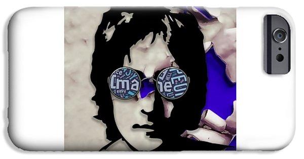 John Lennon Music IPhone 6s Case