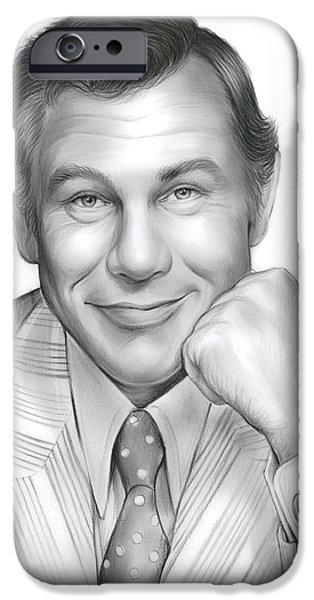 Johnny Carson IPhone 6s Case by Greg Joens