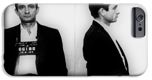 Johnny Cash Mug Shot Horizontal IPhone 6s Case