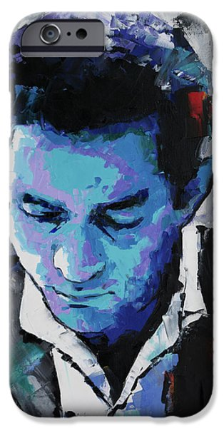 Johnny Cash IPhone 6s Case by Richard Day
