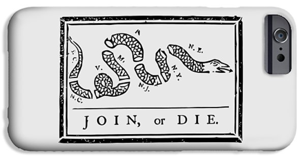 Join Or Die IPhone 6s Case