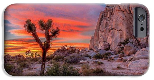 Desert iPhone 6s Case - Joshua Tree Sunset by Peter Tellone