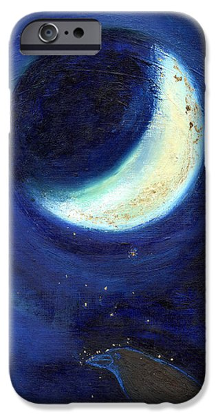 July Moon IPhone 6s Case by Nancy Moniz