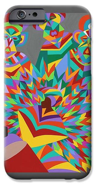 iPhone 6s Case - Junkanoo by Synthia SAINT JAMES