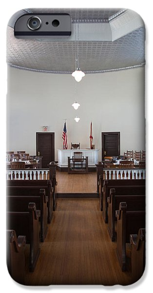 Mockingbird iPhone 6s Case - Jury Box In A Courthouse, Old by Panoramic Images