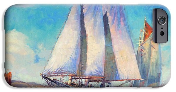 Sailboat iPhone 6s Case - Just Breezin' by Steve Henderson