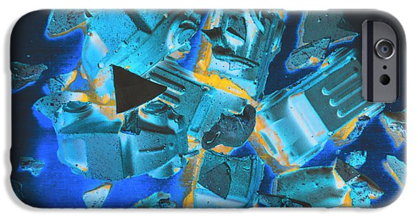 Fractal iPhone 6s Case - Just Like A Slow Motion Car Crash by Jorgo Photography - Wall Art Gallery