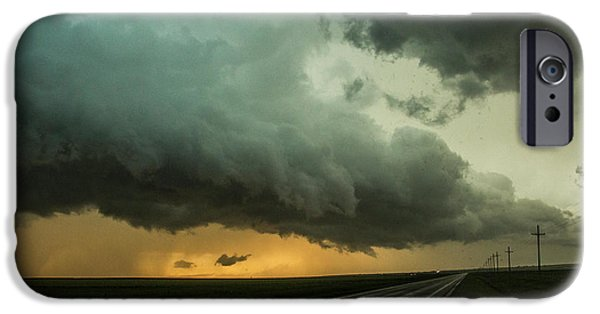 Nebraskasc iPhone 6s Case - Kansas Storm Chase Bust Day 004 by NebraskaSC