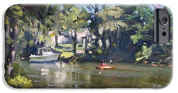 Geese iPhone 6s Case - Kayaking by Ylli Haruni