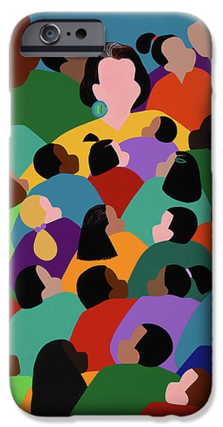 iPhone 6s Case - Keeper Of The Flame by Synthia SAINT JAMES