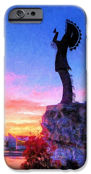 Keeper Of The Plains IPhone 6s Case by JC Findley