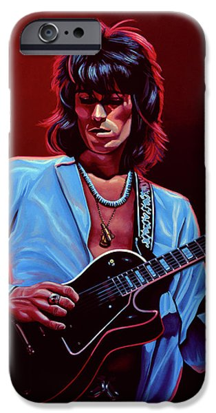 Musicians iPhone 6s Case - Keith Richards The Riffmaster by Paul Meijering