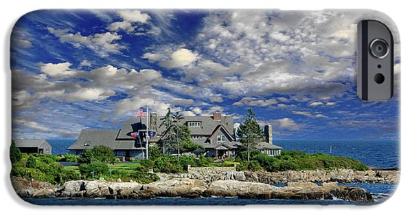 Kennebunkport, Maine - Walker's Point IPhone 6s Case by Russ Harris