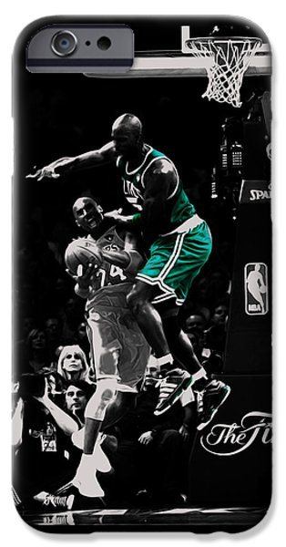 Kevin Garnett Not In Here IPhone 6s Case by Brian Reaves