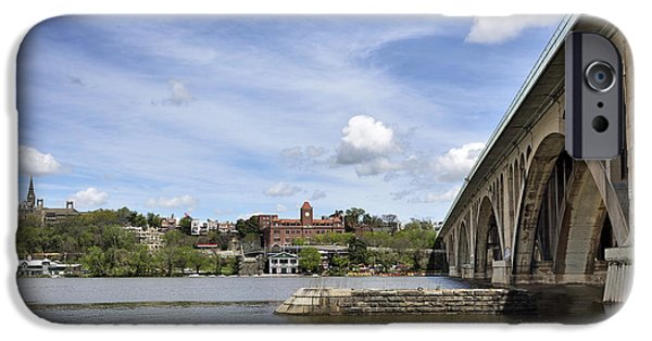 Key Bridge Into Georgetown IPhone 6s Case by Brendan Reals