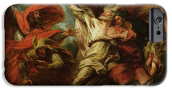King Lear IPhone Case by Benjamin West
