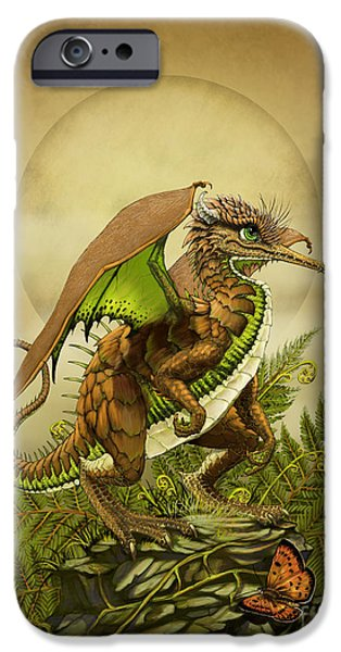 Kiwi iPhone 6s Case - Kiwi Dragon by Stanley Morrison