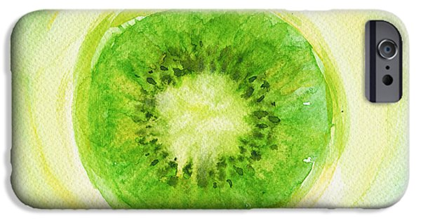 Kiwi iPhone 6s Case - Kiwi Fruit by Kathleen Wong