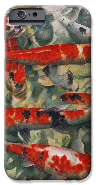 Koi Karp IPhone 6s Case by Gareth Lloyd Ball