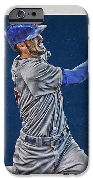 Kris Bryant Chicago Cubs Art 3 IPhone 6s Case by Joe Hamilton
