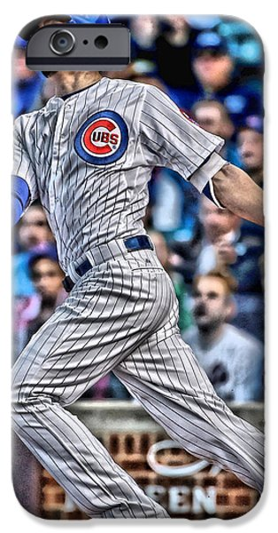 Kris Bryant Chicago Cubs IPhone 6s Case by Joe Hamilton