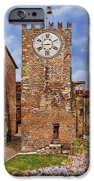 Swallow iPhone 6s Case - La Torre Del Carmine-montecatini Terme-tuscany by Guido Borelli