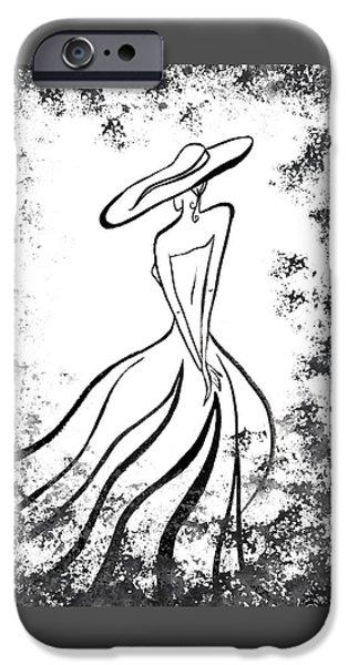 Lady Charm IPhone 6s Case by Irina Sztukowski