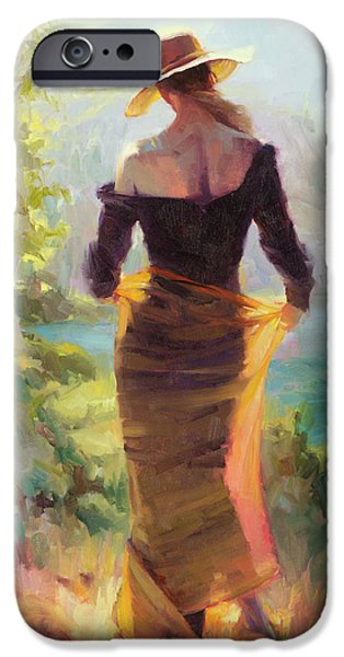 Impressionism iPhone 6s Case - Lady Of The Lake by Steve Henderson