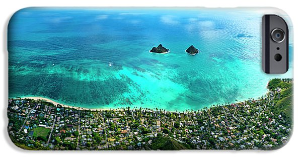 Helicopter iPhone 6s Case - Lanikai Over View by Sean Davey