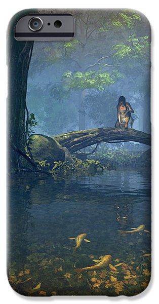 Elf iPhone 6s Case - Lantern Bearer by Cynthia Decker