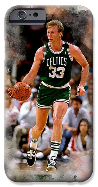 Larry Bird iPhone 6s Case - Larry Bird by Karl Knox Images