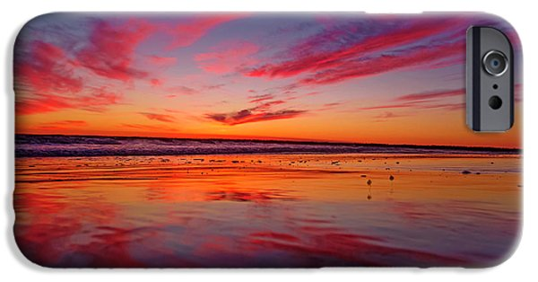 Sandpiper iPhone 6s Case - Last Light Topsail Beach by Betsy Knapp