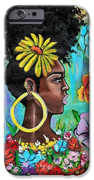 iPhone 6s Case - Late Bloomer by Artist RiA