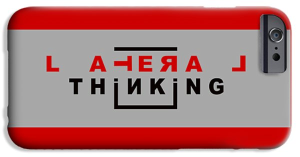 Lateral Thinking IPhone 6s Case by Mal Bray