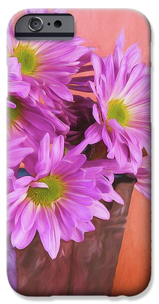 Daisy iPhone 6s Case - Lavender Daisies by Tom Mc Nemar