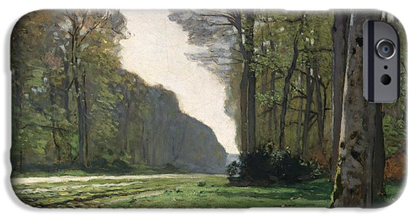 Rural Scenes iPhone 6s Case - Le Pave De Chailly by Claude Monet
