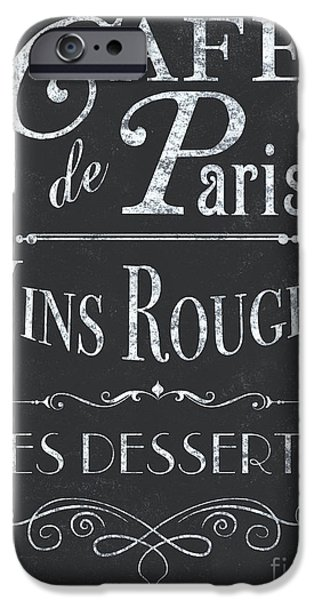 Le Petite Bistro 2 IPhone 6s Case by Debbie DeWitt